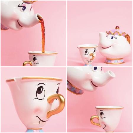 Si te volviste loca con la taza de Chip de Primark, en ASOS tienes el juego completo de taza y tetera de la Señora Pott por 33,49 euros y envío gratis