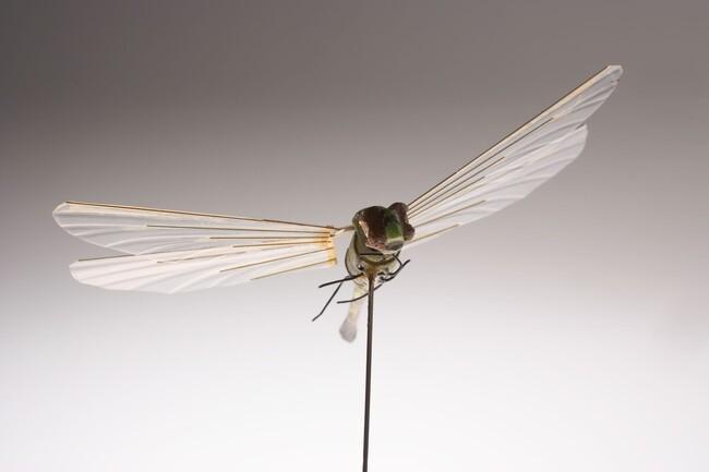 Esta libélula robot de 1 gramo de peso fue diseñada por la CIA como dispositivo de espionaje en la década de los 70.