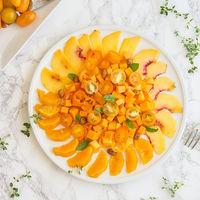 Ensalada naranja: receta refrescante para combatir el calor