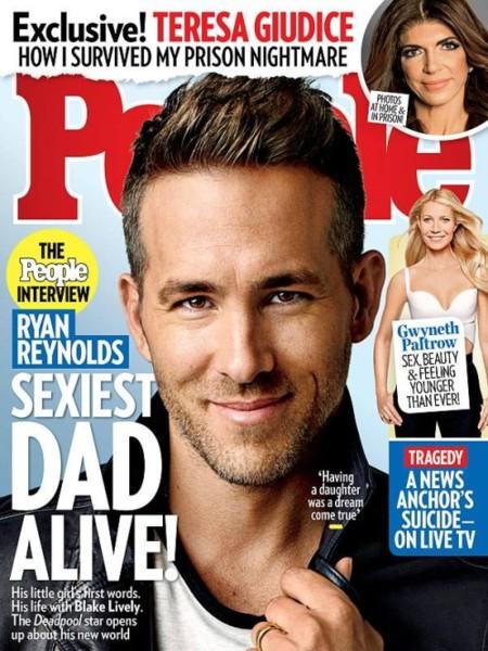 Ryan Reynolds en su mejor papel: papá sexy