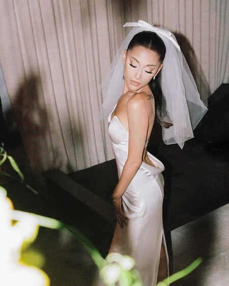 Ariana Grande Boda Vestido Novia 06