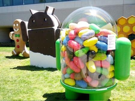 La estatua de Android Jelly Bean ya está en Googleplex