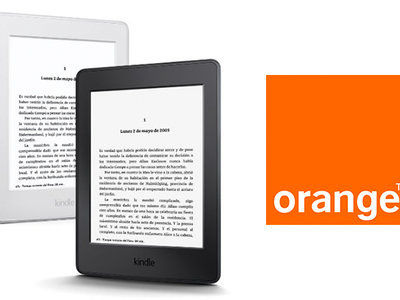 Los libros electrónicos llegan al catálogo de Orange de la mano del Kindle Paperwhite