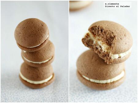Whoopies de cacao y vainilla: los tiernos pastelitos rellenos de origen amish