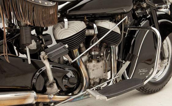 A subasta la motocicleta Indian Chief de 1946 que perteneció a Steve McQueen