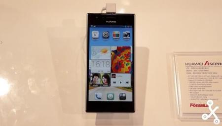 Huawei Ascend P2, primer contacto