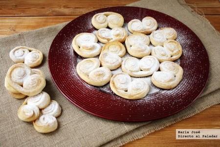 Cómo hacer palmeritas de brioche, receta para darse un capricho dulce