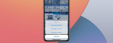 Cómo reordenar las fotos y vídeos de un álbum en Fotos para iOS 14 y iPadOS 14