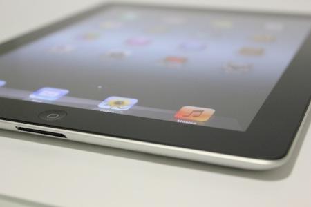 nuevo iPad isométrico