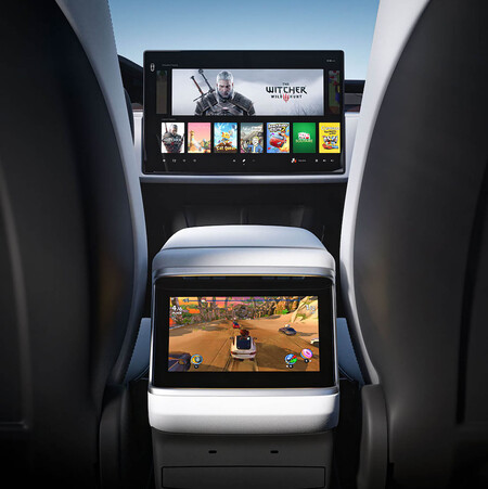 Tesla Model S Tesla Arcade