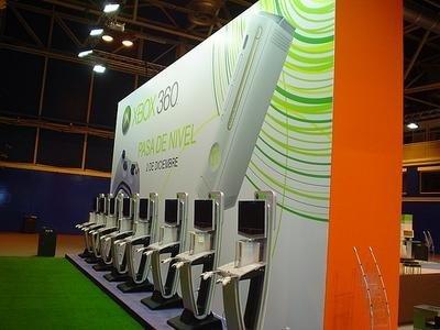 Pueba la consola Xbox 360 en el SIMO