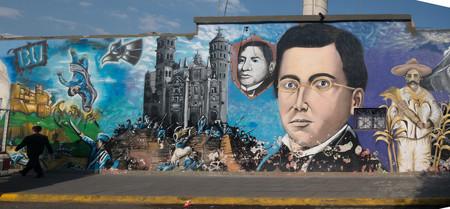 Mural de Puebla en México