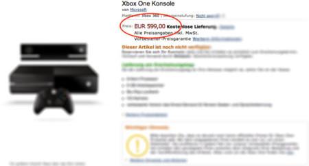 Xbox One precio en Amazon