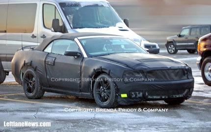Nuevas fotos espía del 2010 Ford Mustang