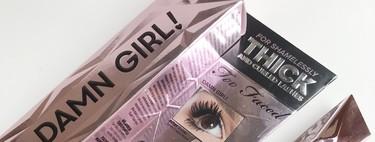 La nueva máscara de pestañas Danm Girl! de Too Faced es, probablemente, la mejor que he probado en los últimos años