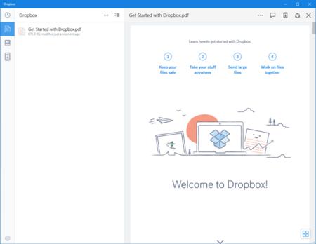 Dropbox para Windows recibe una actualización y añade un remozado cargador de cámara