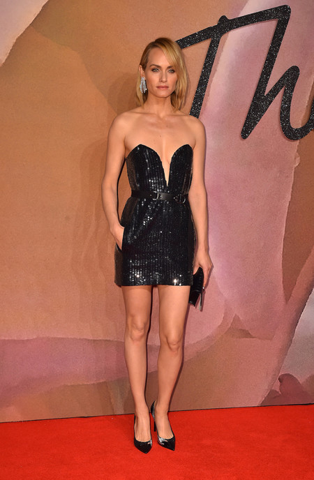 British Fashion Awards 2016 Amber Valletta