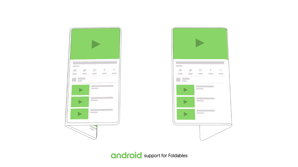 this is Android for devices folding: the premiere of the new Samsung