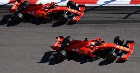 Vettel Leclerc Rusia F1 2019 2