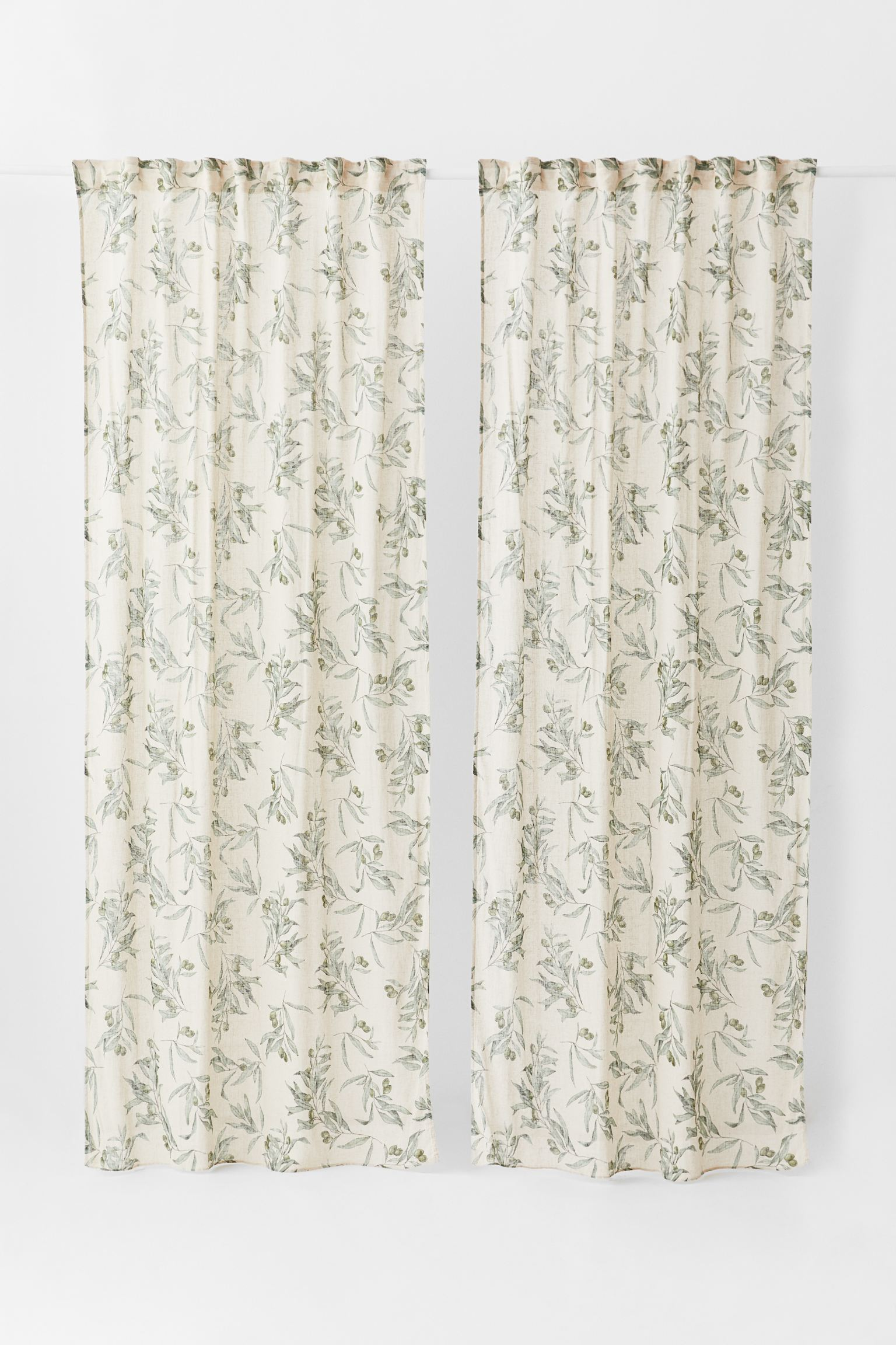 Pack de dos cortinas