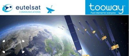 Tooway mejora las condiciones de sus conexiones por satélite: 18 Mbps con 50 GB al mes