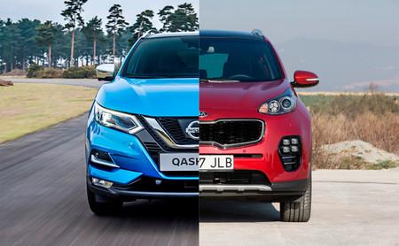 Comparativa Nissan Qashqai vs Kia Sportage: ¿cuál es mejor para comprar?