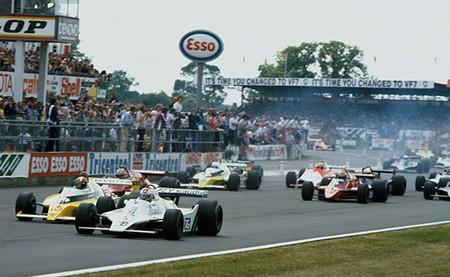 Salida GP Gran Bretaña 1979