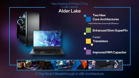 Intel Alder Lake Specs