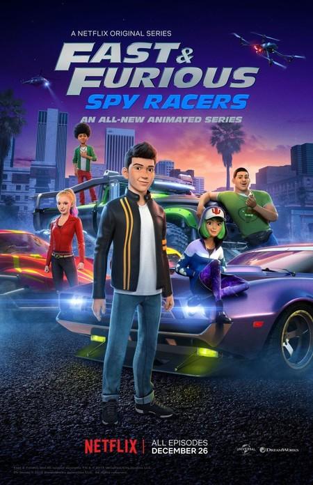 Películas de coches de Netflix