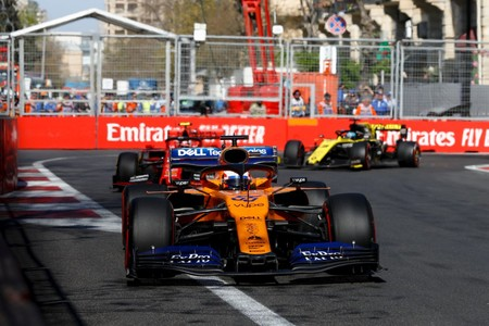 Sainz Baku F1 2019