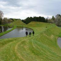 Jardín de la especulación cósmica (Escocia)