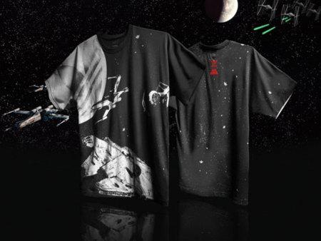 Adidas Star Wars camiseta negra