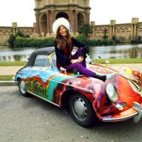 Esta es la curiosa historia del Porsche 356 de Janis Joplin que saldrá a subasta en unos meses