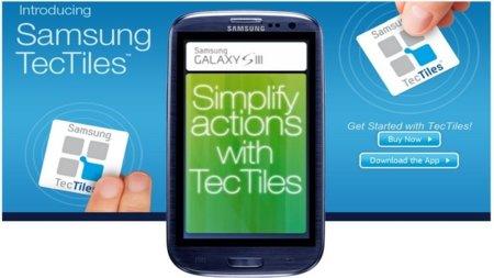 Samsung TecTiles, tarjetas NFC programables para mejorar nuestra interacción con el móvil