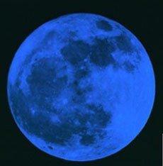 La luna llena y los nacimientos