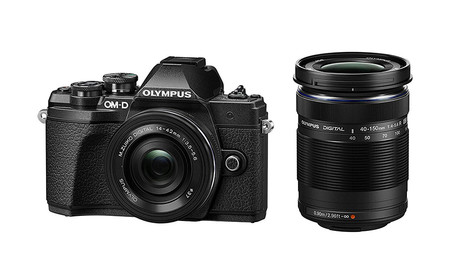 Olympus Om D E M10 Mark Iii Two Lens