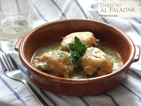 Receta de patatas en salsa verde