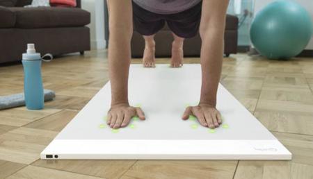 Indicaciones LED para hacer yoga