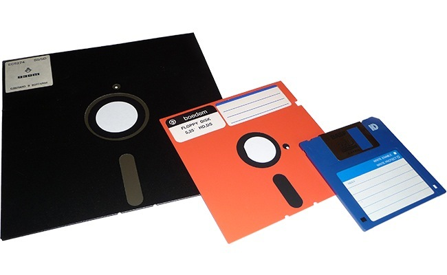 Diskettes retro