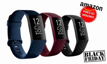 Amazon baja de nuevo a precio mínimo la pulsera deportiva Fitbit Charge 4 por el Black Friday. La tienes en oferta por 99,95 euros