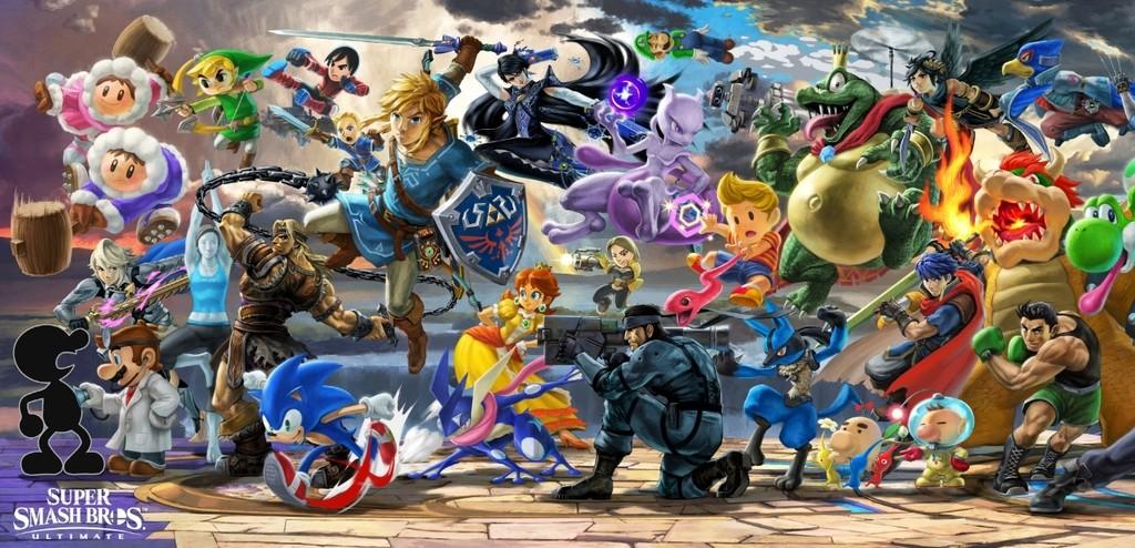 Super Smash Bros Ultimate Cabecera