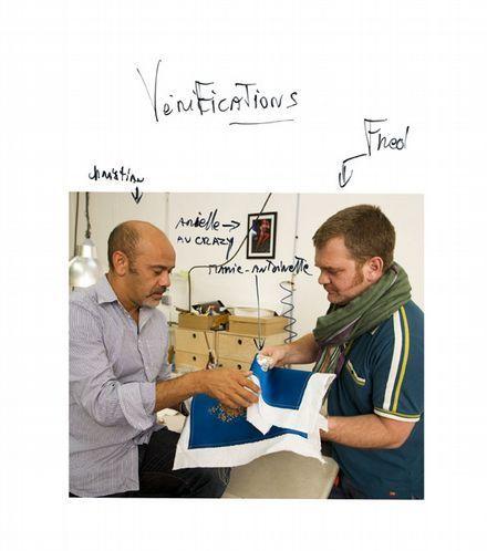Verificacion a manos de Christian Louboutin y Jean Francois Lesage