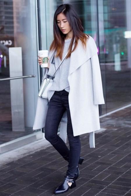 Mango Gray Coats