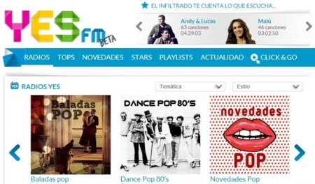 YES FM, la nueva radio en streaming de Prisa