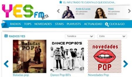 YES FM, la nueva radio en streaming de Prisa