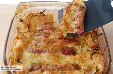 Receta de Toad in the Hole, especialidad británica con salchichas al horno