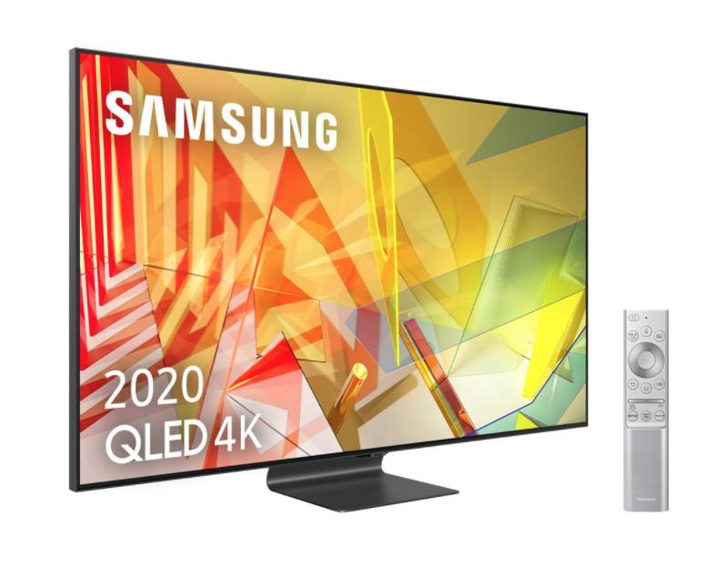 """Samsung QLED 4K 2020 65Q95T, Smart TV 65"""", Direct Full Array HDR 2000, IA 4K UHD, Asistentes de voz Integrados"""