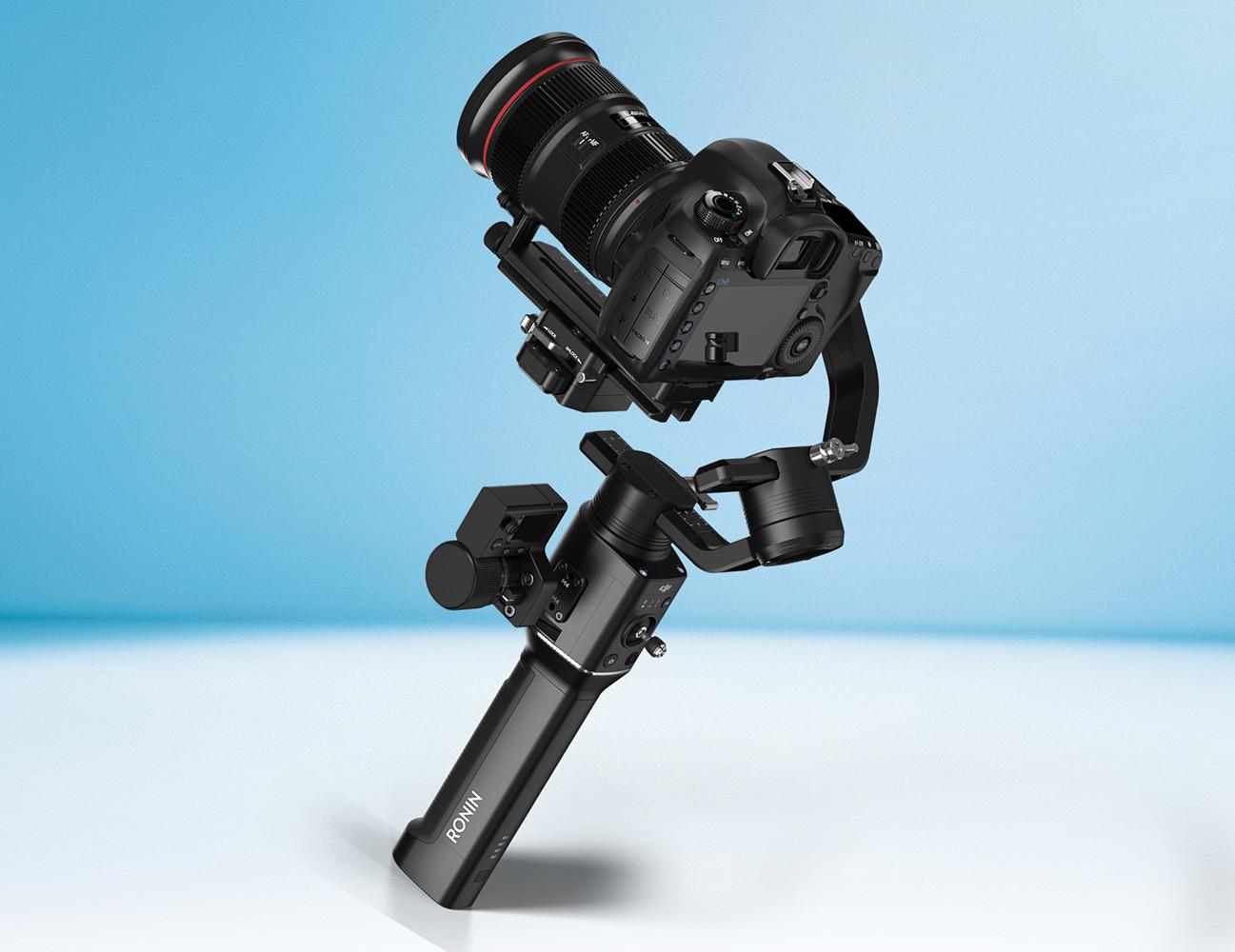 DJI Ronin-S, un estabilizador portátil para manejar con una sola mano cámaras réflex y sin espejo