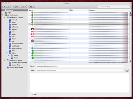 Firefox 3.0 Librería
