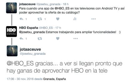 Consulta Hbo